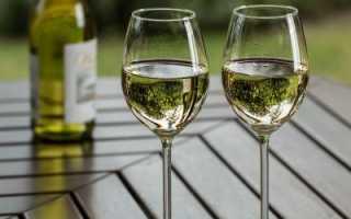 Белое сухое вино как пить