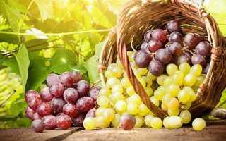 Виноград повышает давление