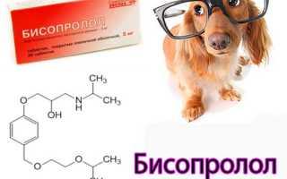 Бисопролол передозировка симптомы
