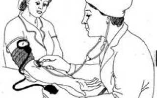 Алгоритм измерения артериального давления для медсестры
