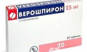 Длительность приема верошпирона при сердечной недостаточности